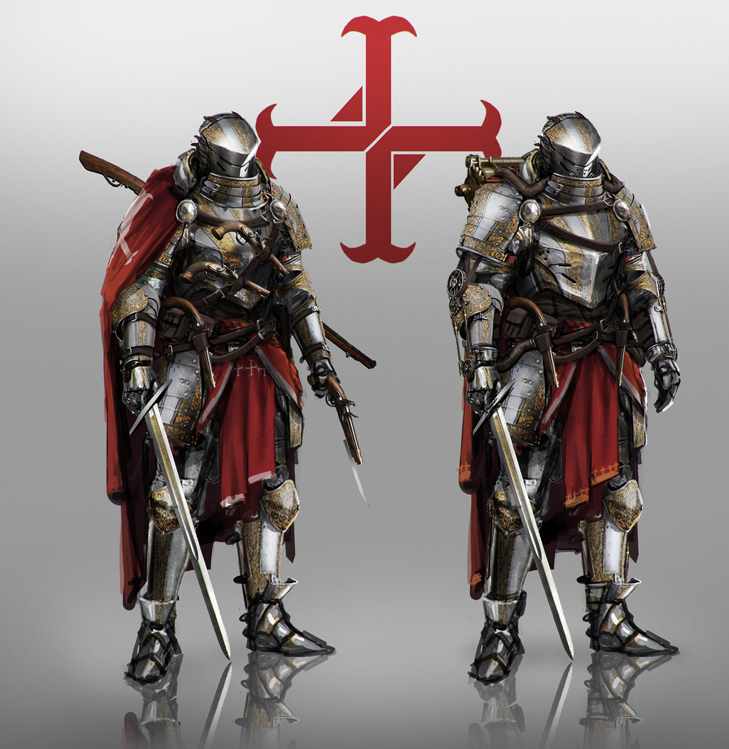 Knights of the Order concept