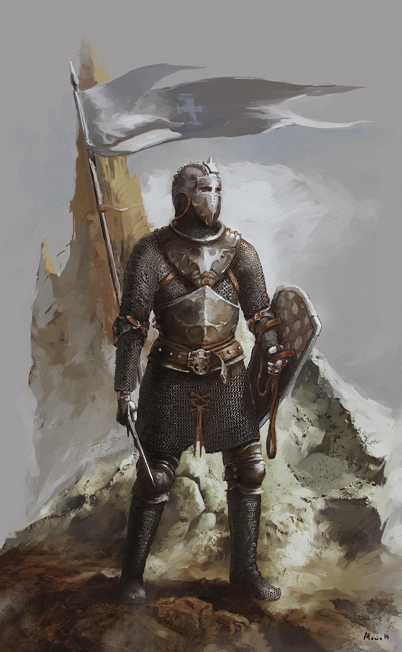 Sergey musin swordsman concept3