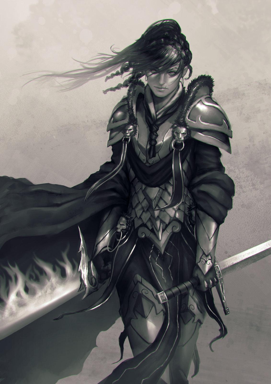 Artstation Knight Nick Gan