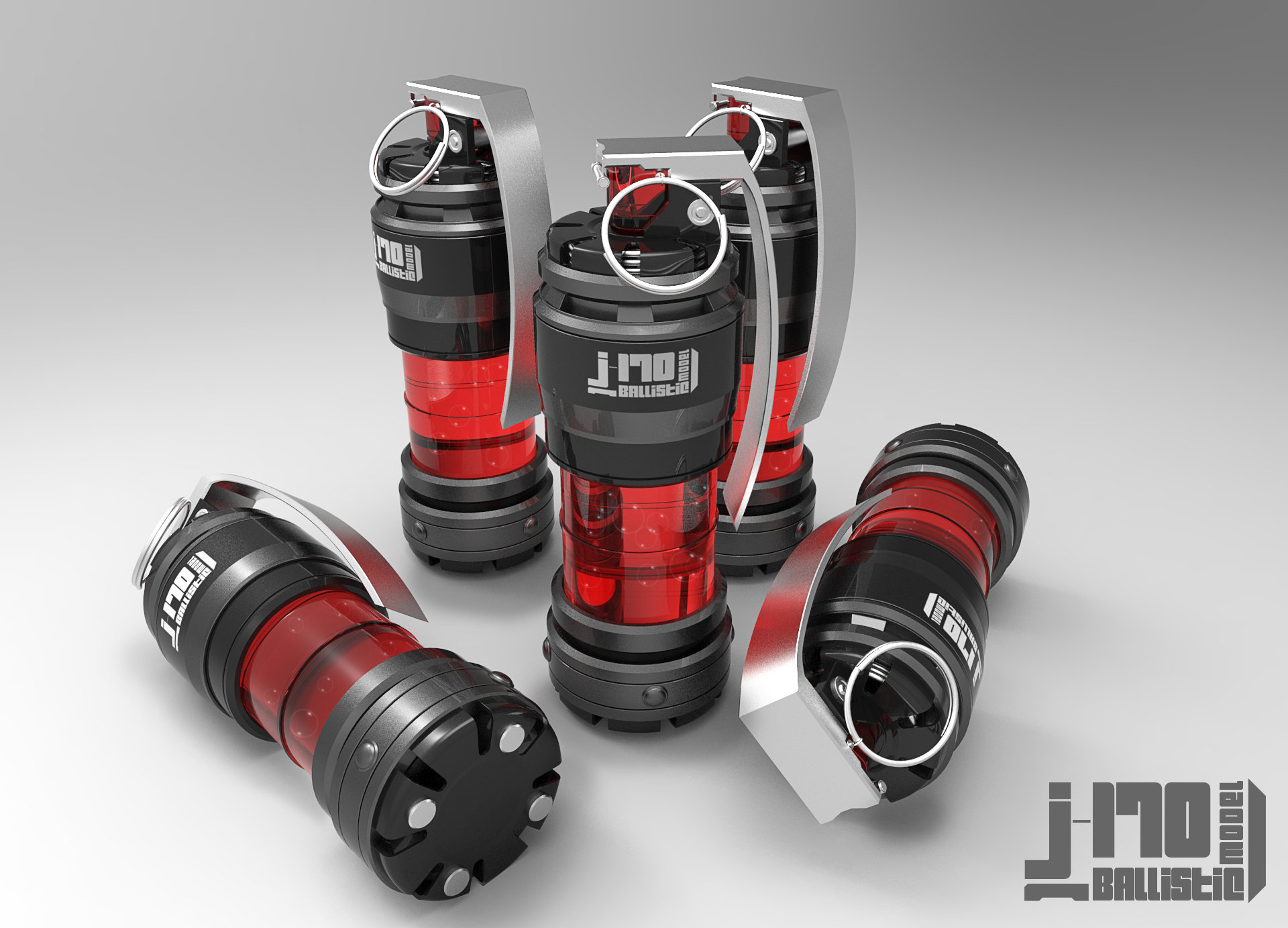 Jarlan perez j170 grenade red