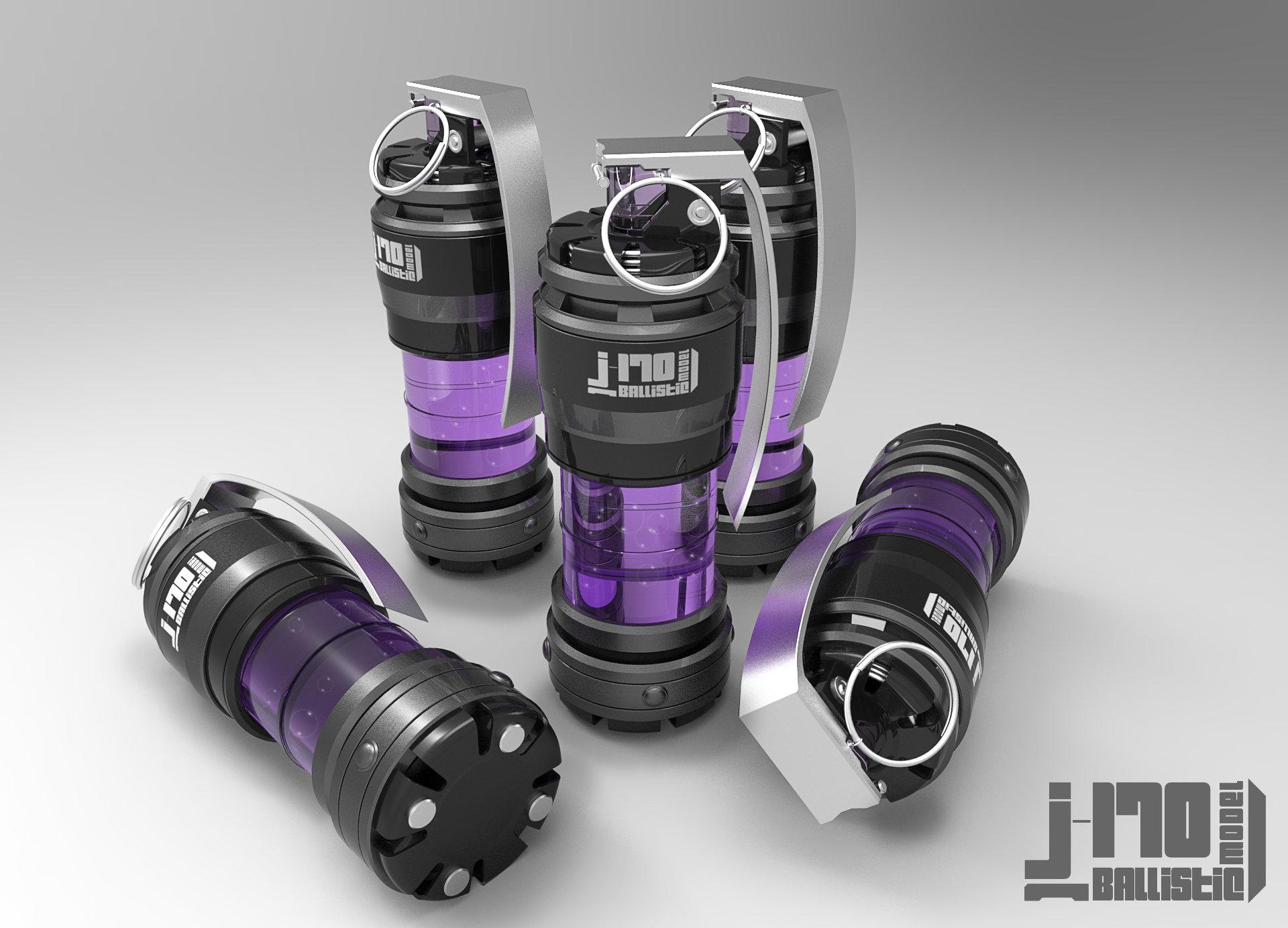 Jarlan perez j170 grenade violet