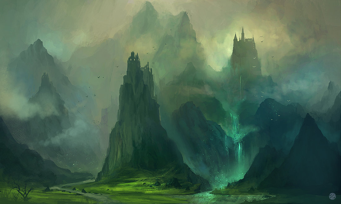 the journey to the castle in the clouds