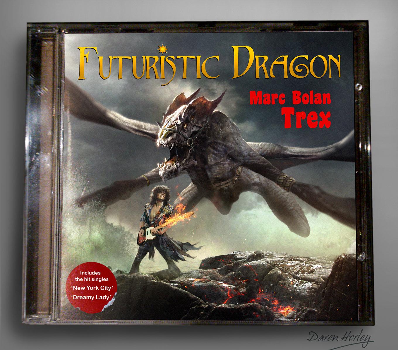 Daren horley futuristic dragon cd