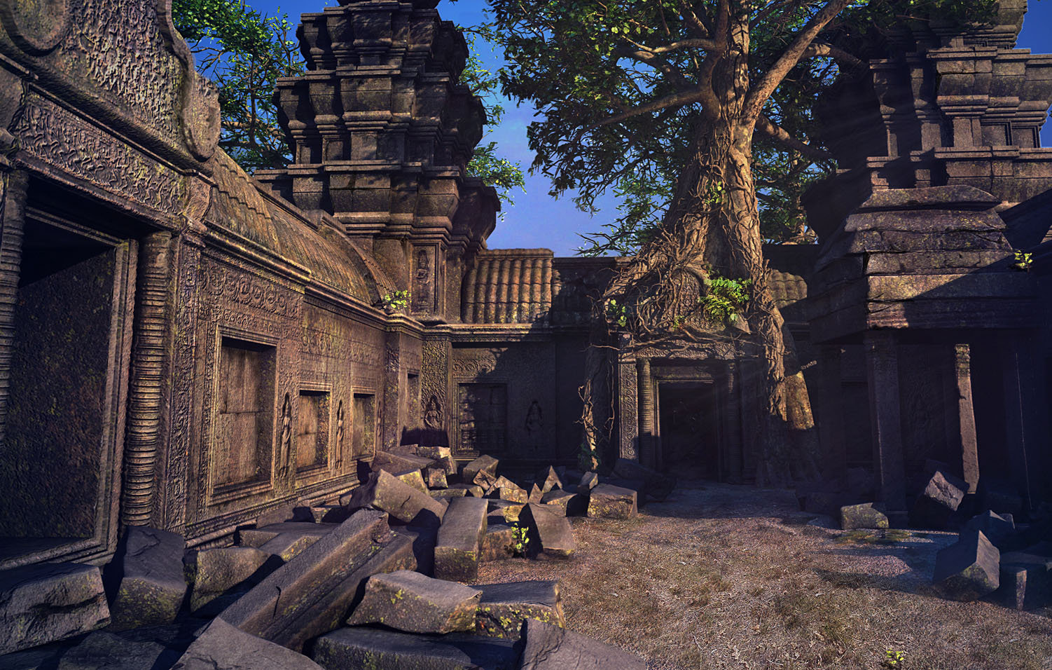 Virendra pratap singh mrcraft temple of angkor