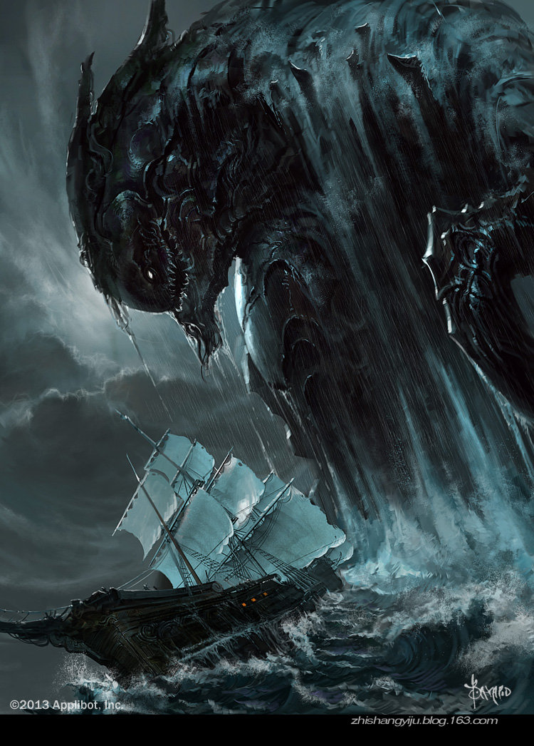 Bayard wu monster in deep