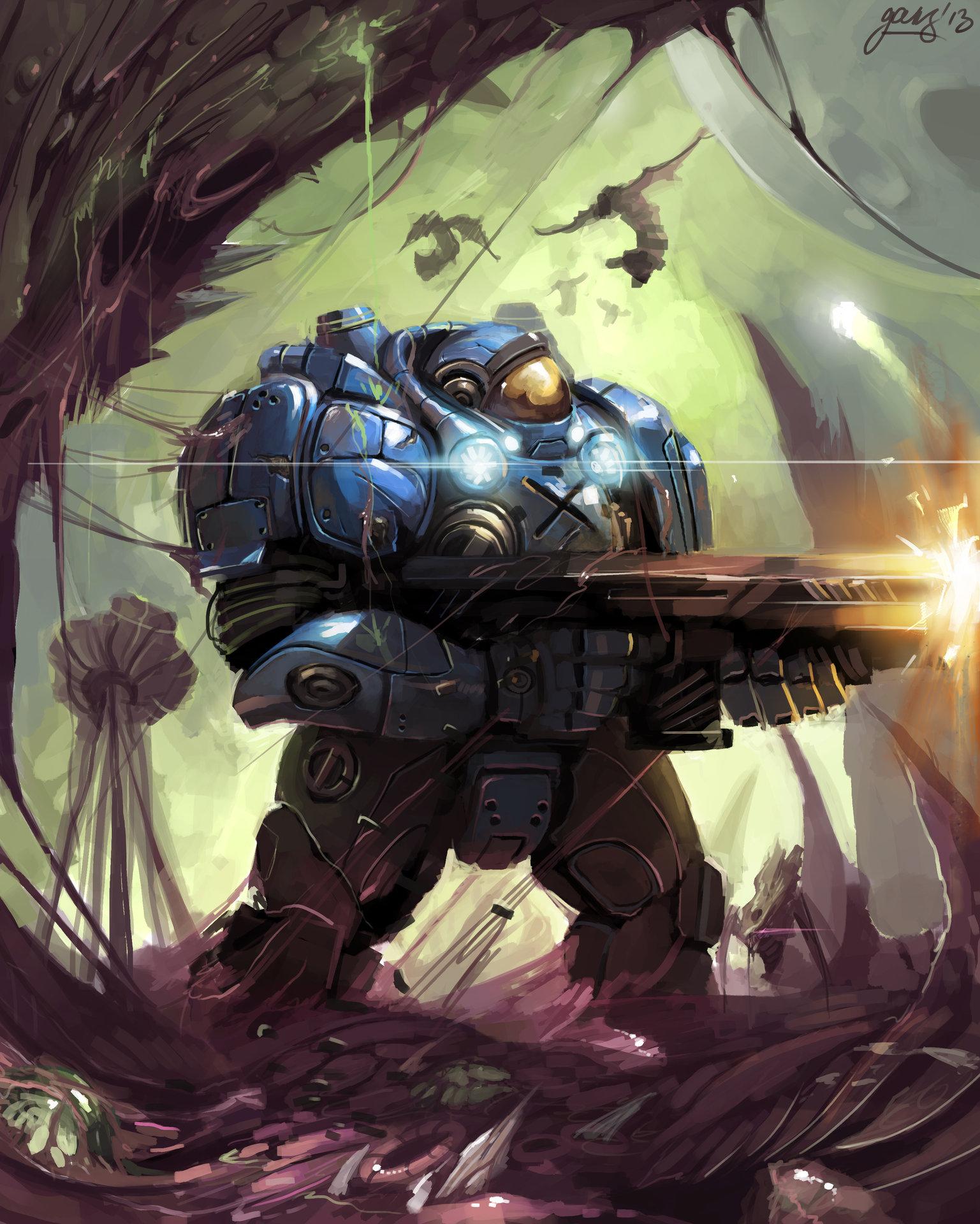 starcraft space marine artwork - photo #18