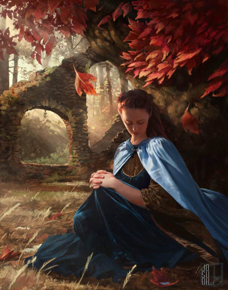 Sansa Stark in the Goodswood of the Red Keep