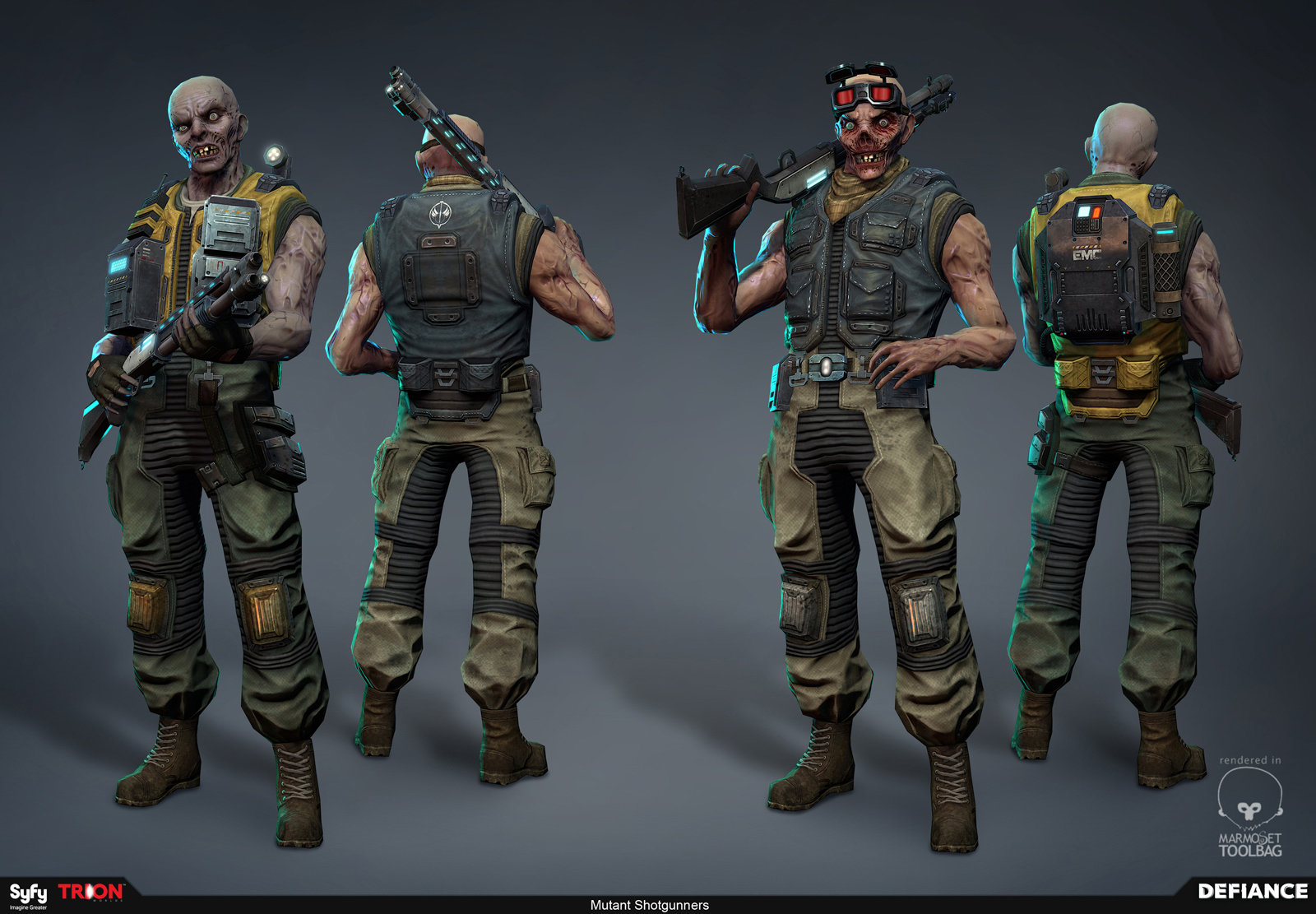 Defiance - Mutant Shotgunner