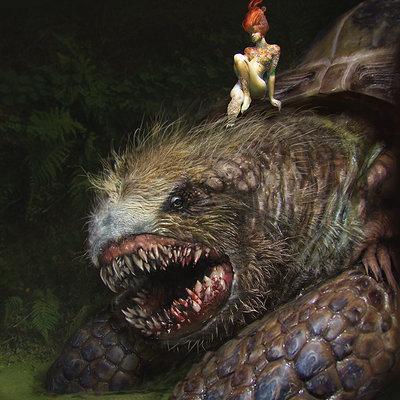 Andrei riabovitchev monsters v005