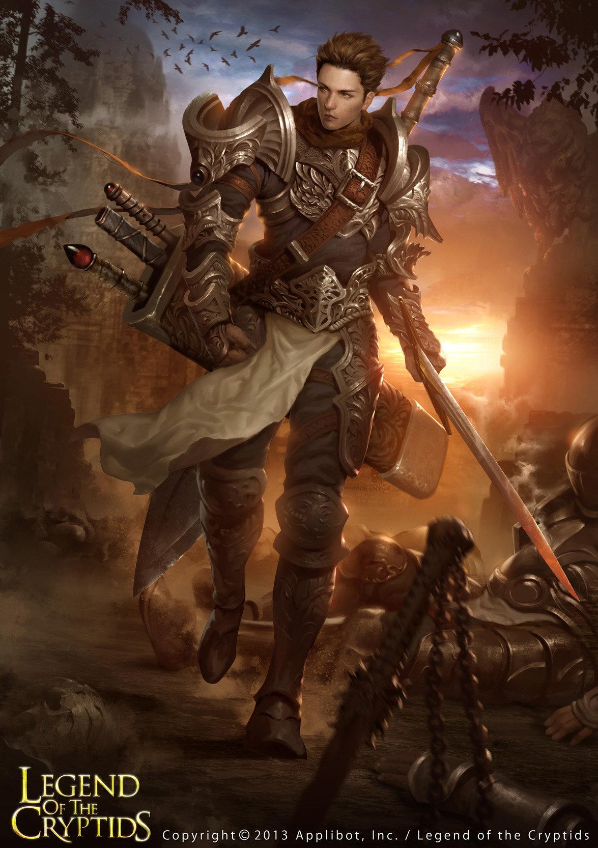 Artstation - Legend Of The Cryptids, Lius Lasahido-8844