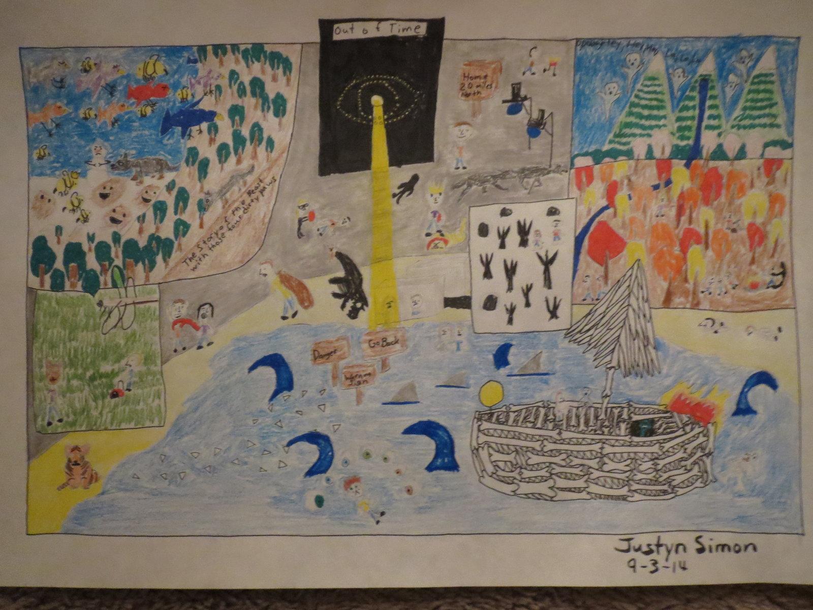 Artstation Of Monsters And Men Fan Art Drawing Justyn Simon
