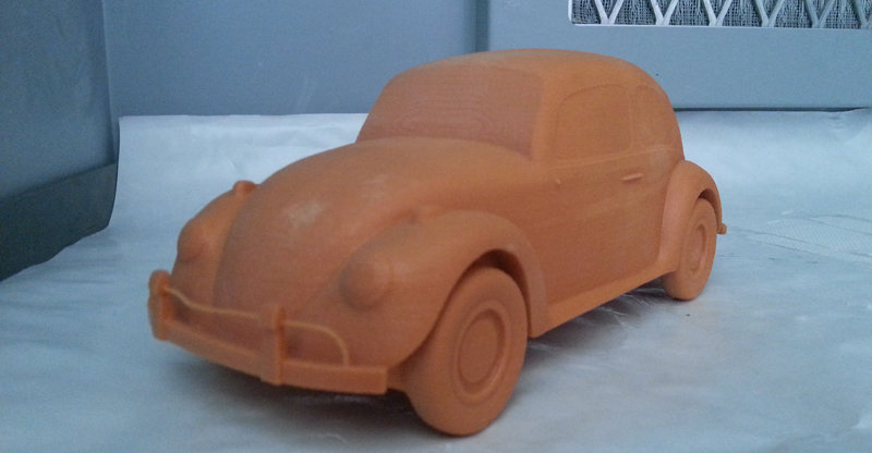 Maurizio barabani volkswagen beetle 3d model print 00