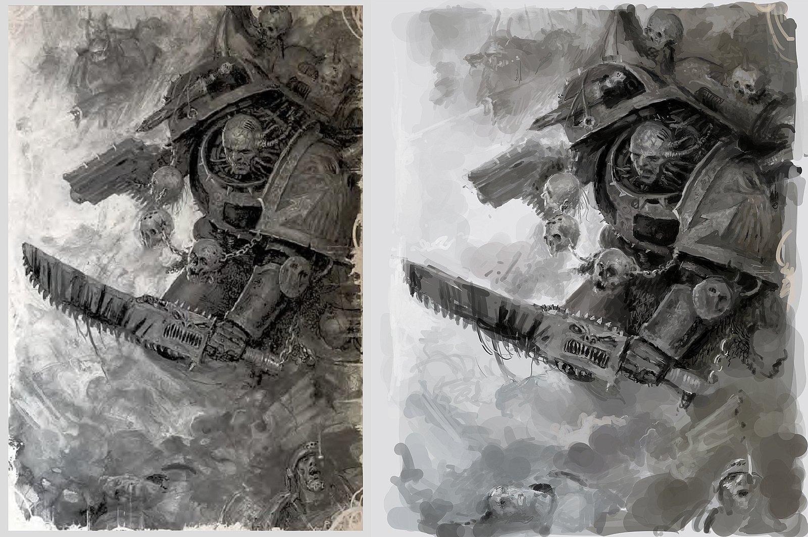 Warhammer 40K study in Mischief