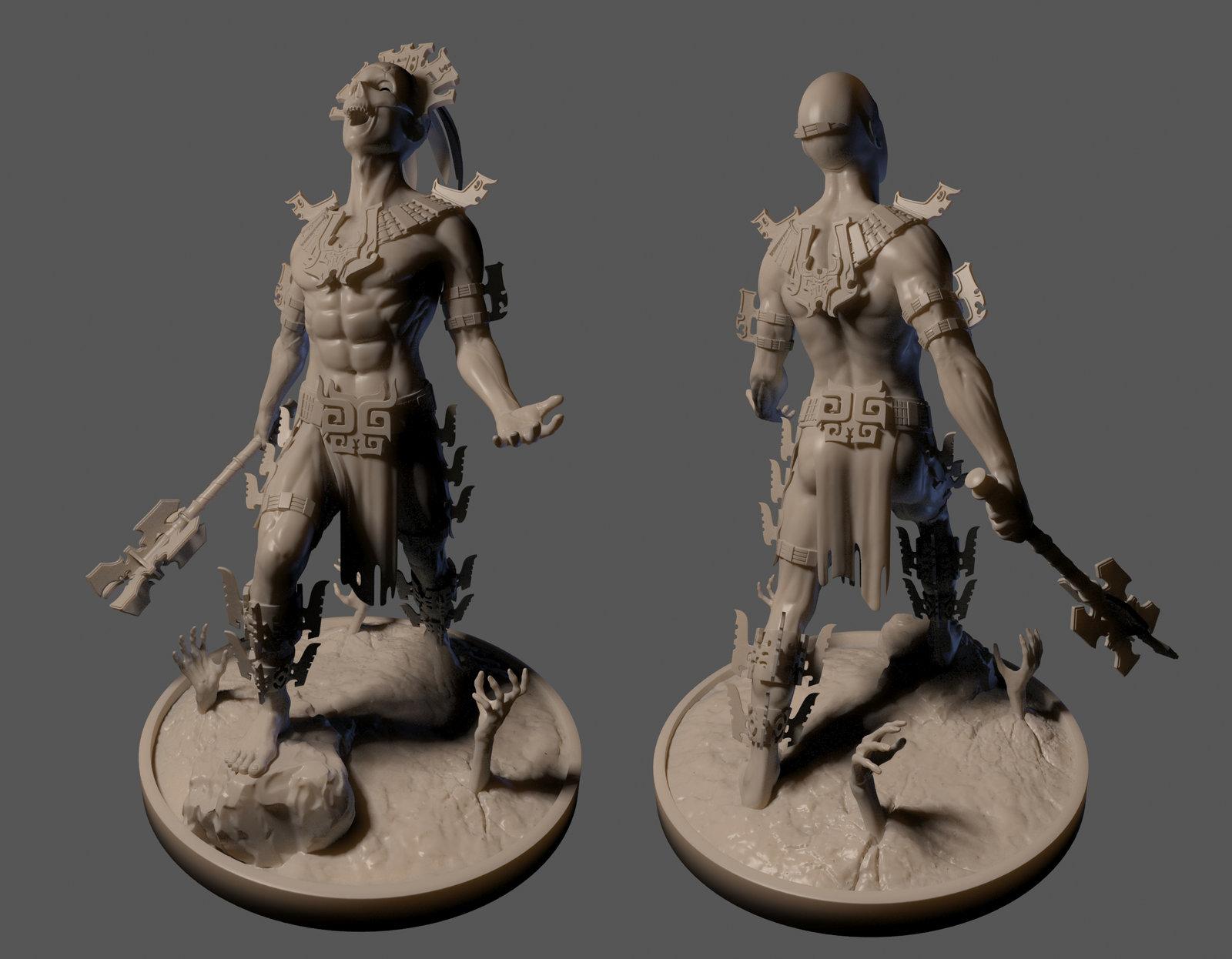 Dark Templar - 3D Print