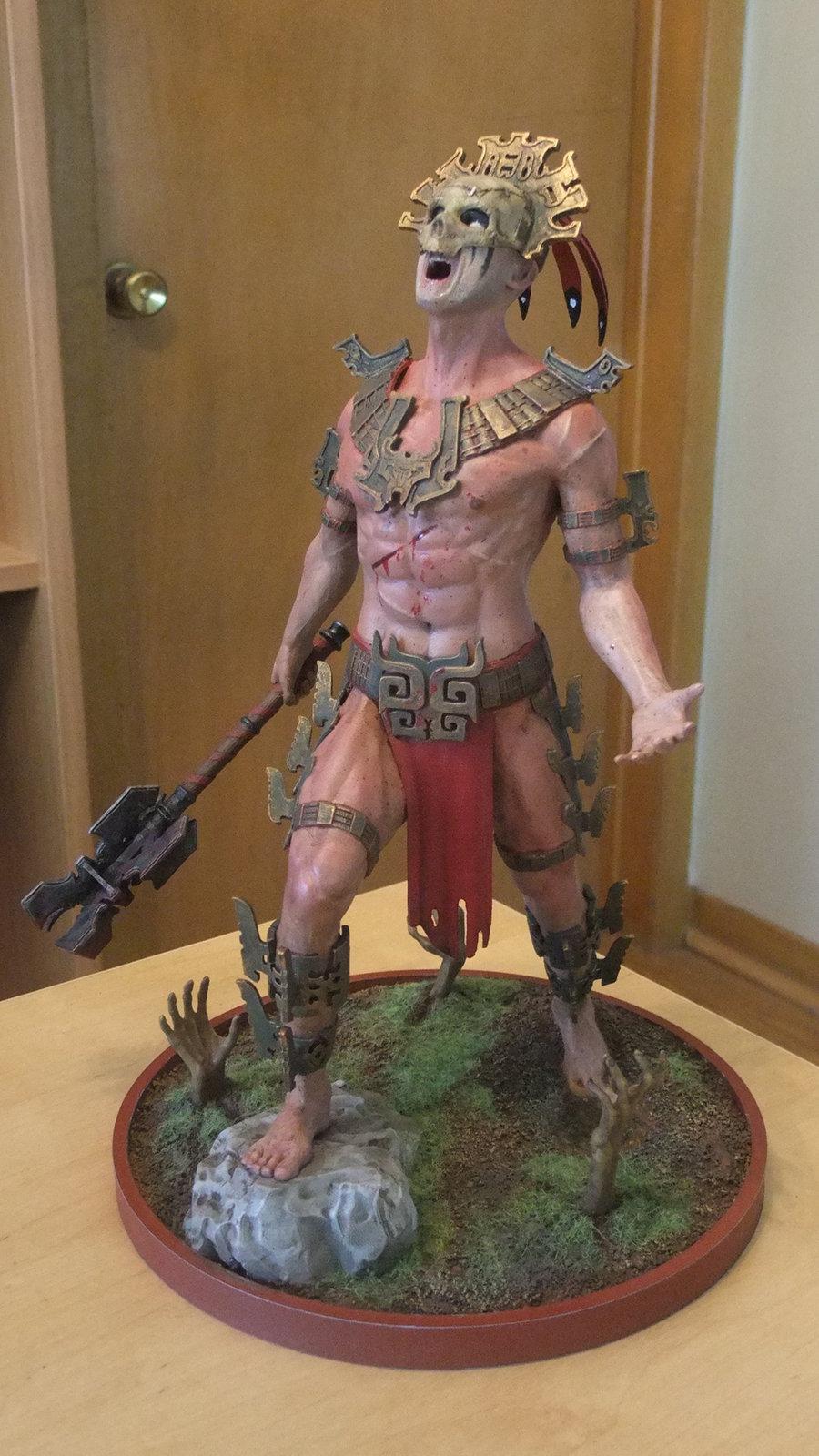 Dark Templar - 3D Print - Complete
