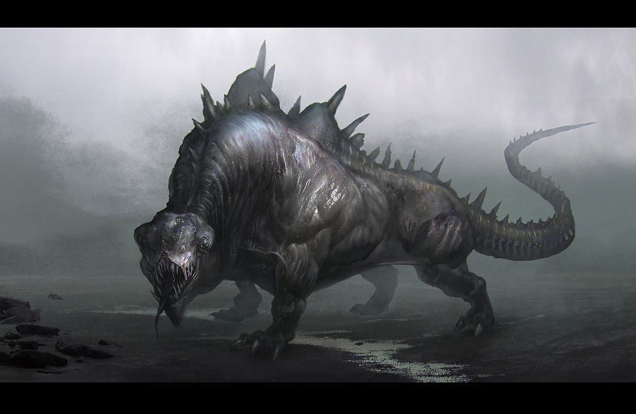 creature, done for  tutorial
