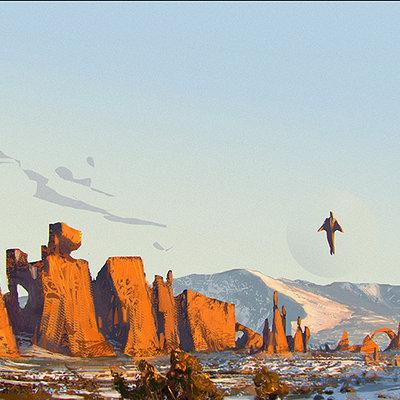 Andrei riabovitchev illustration landscape copy
