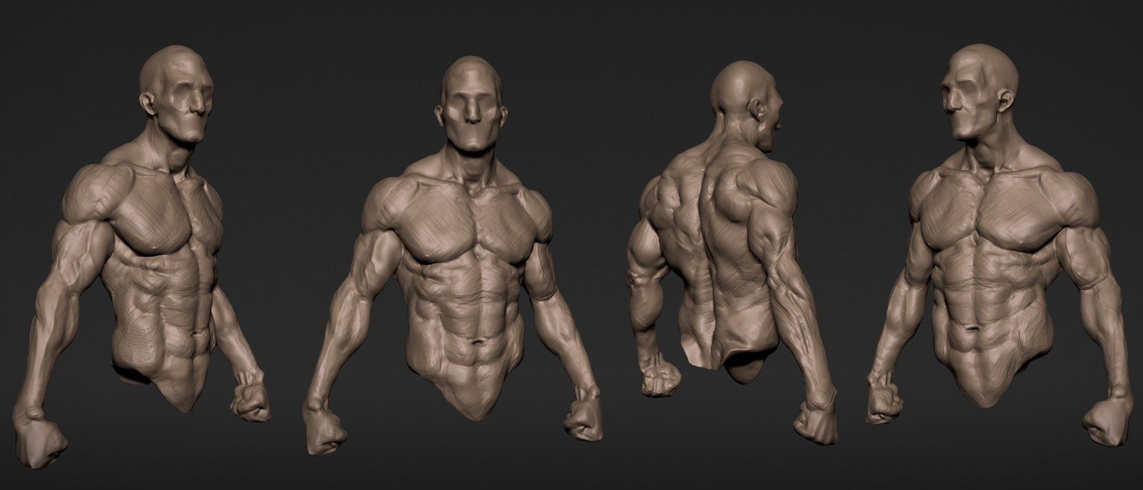 Speed sculpt and warrior from a sphere WIP
