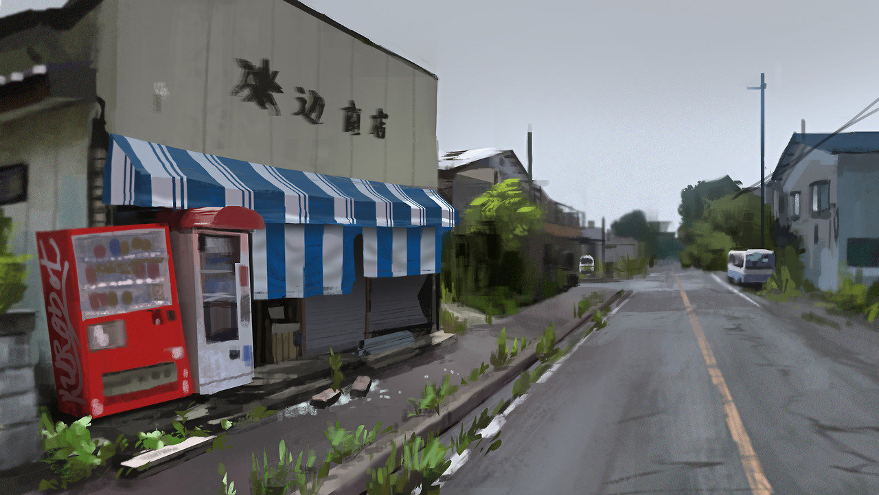Fukushima 02 - Virtual Plein Air