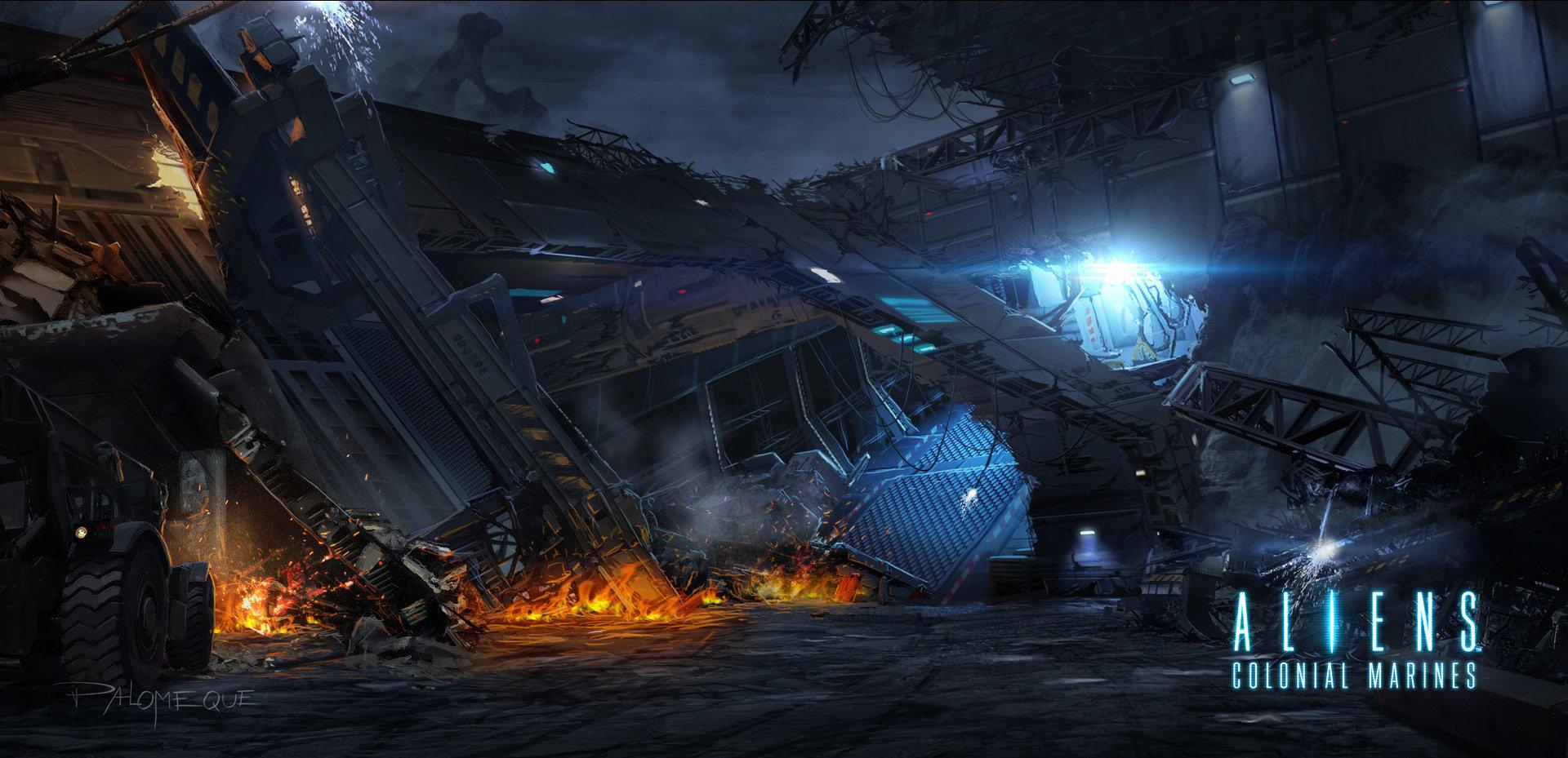 Pablo palomeque acm exterior wreckage 1