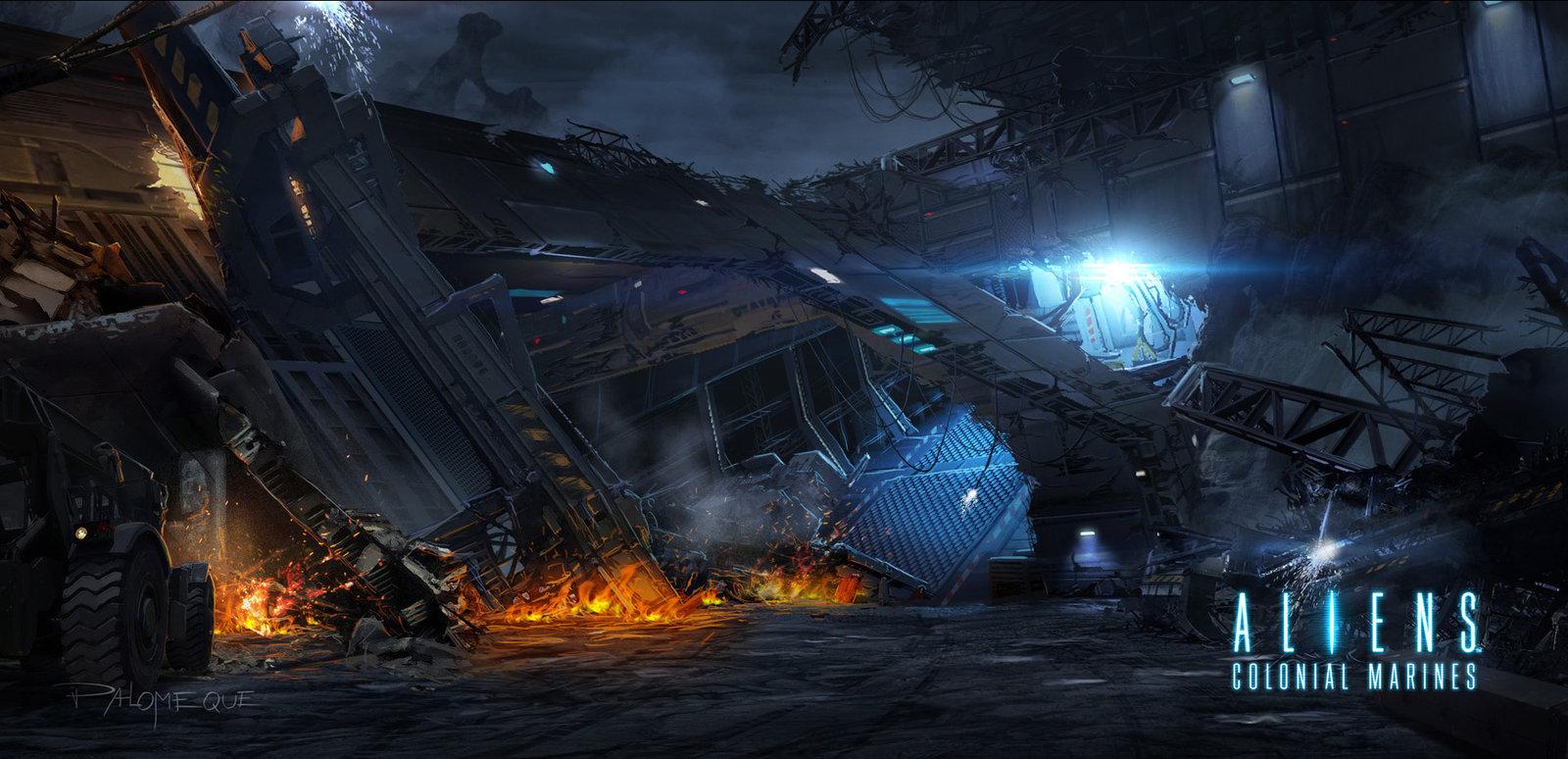 ACM Exterior Wreckage 1