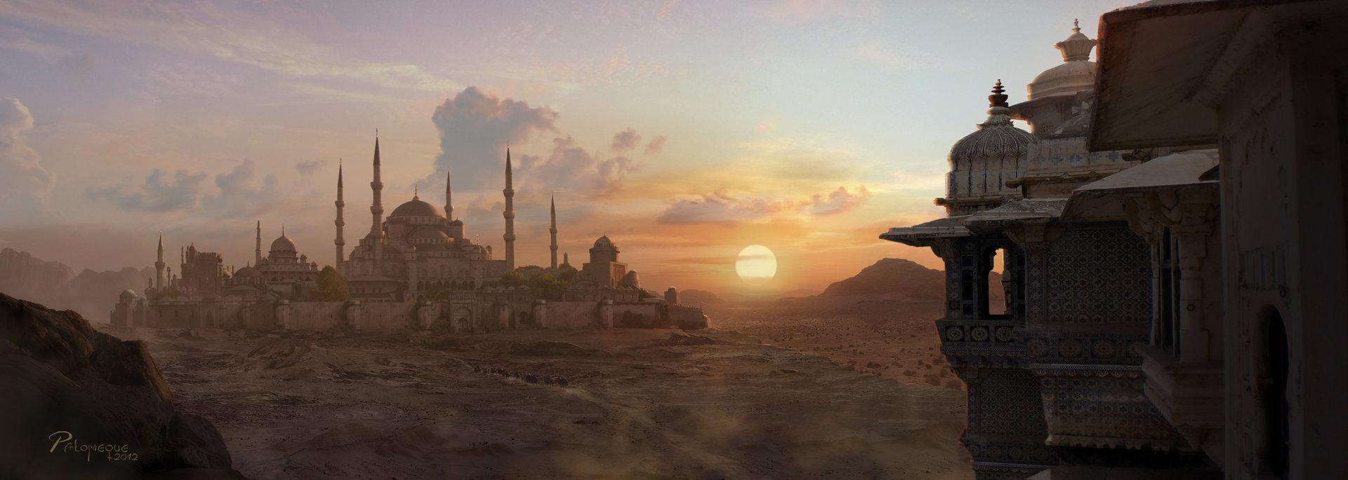 Pablo palomeque desert sunset