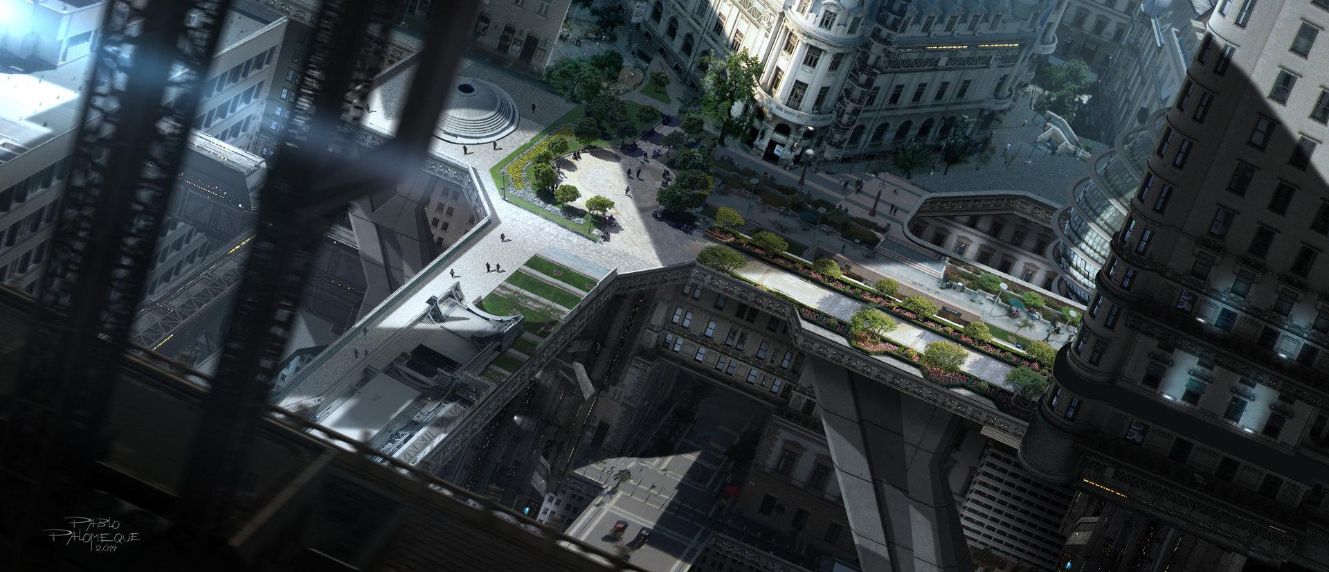 Pablo palomeque terraces city