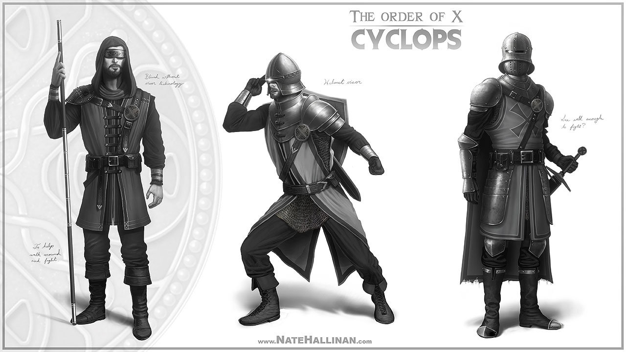The Order of X - Beast rough concepts