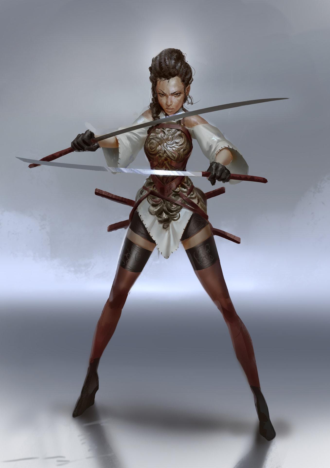 Even amundsen sword lady2