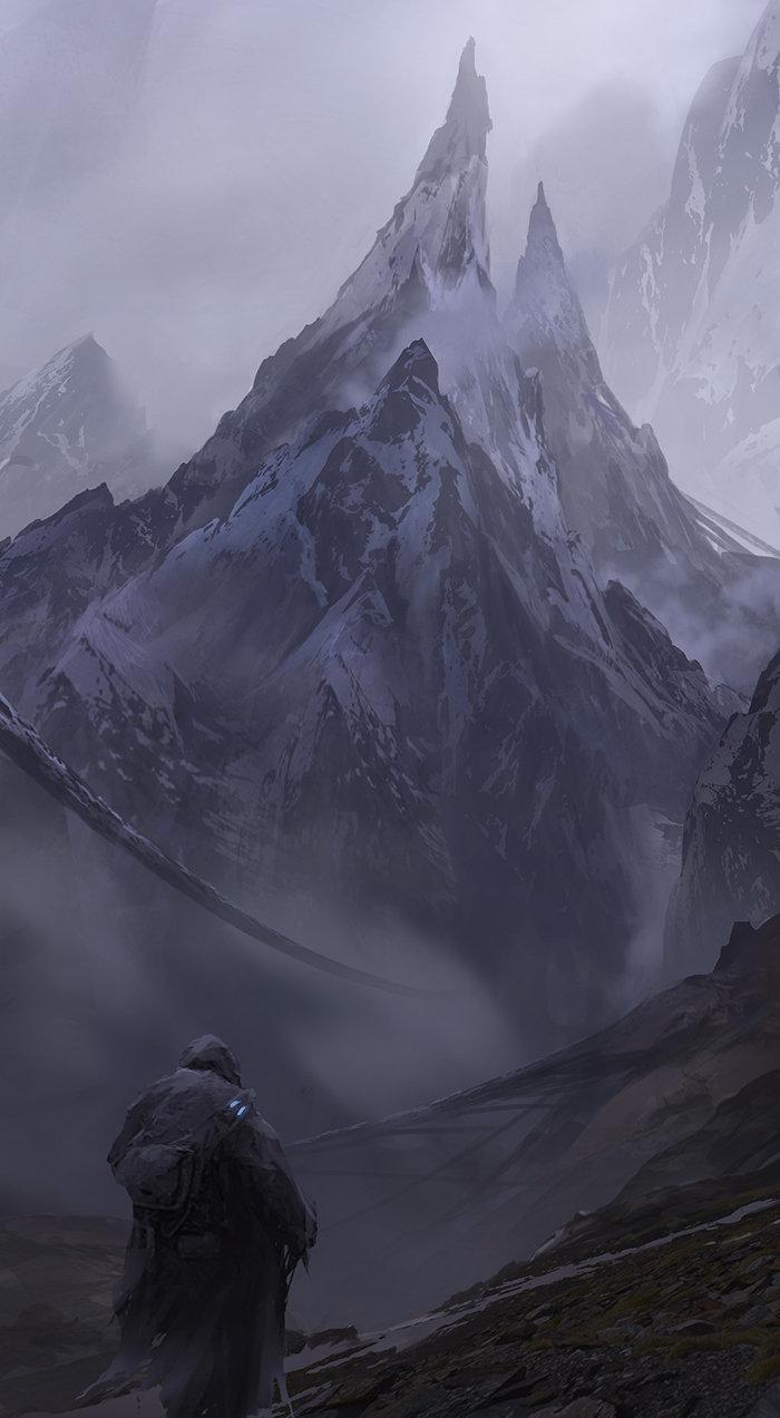 Waqas malik spiky mountain copy