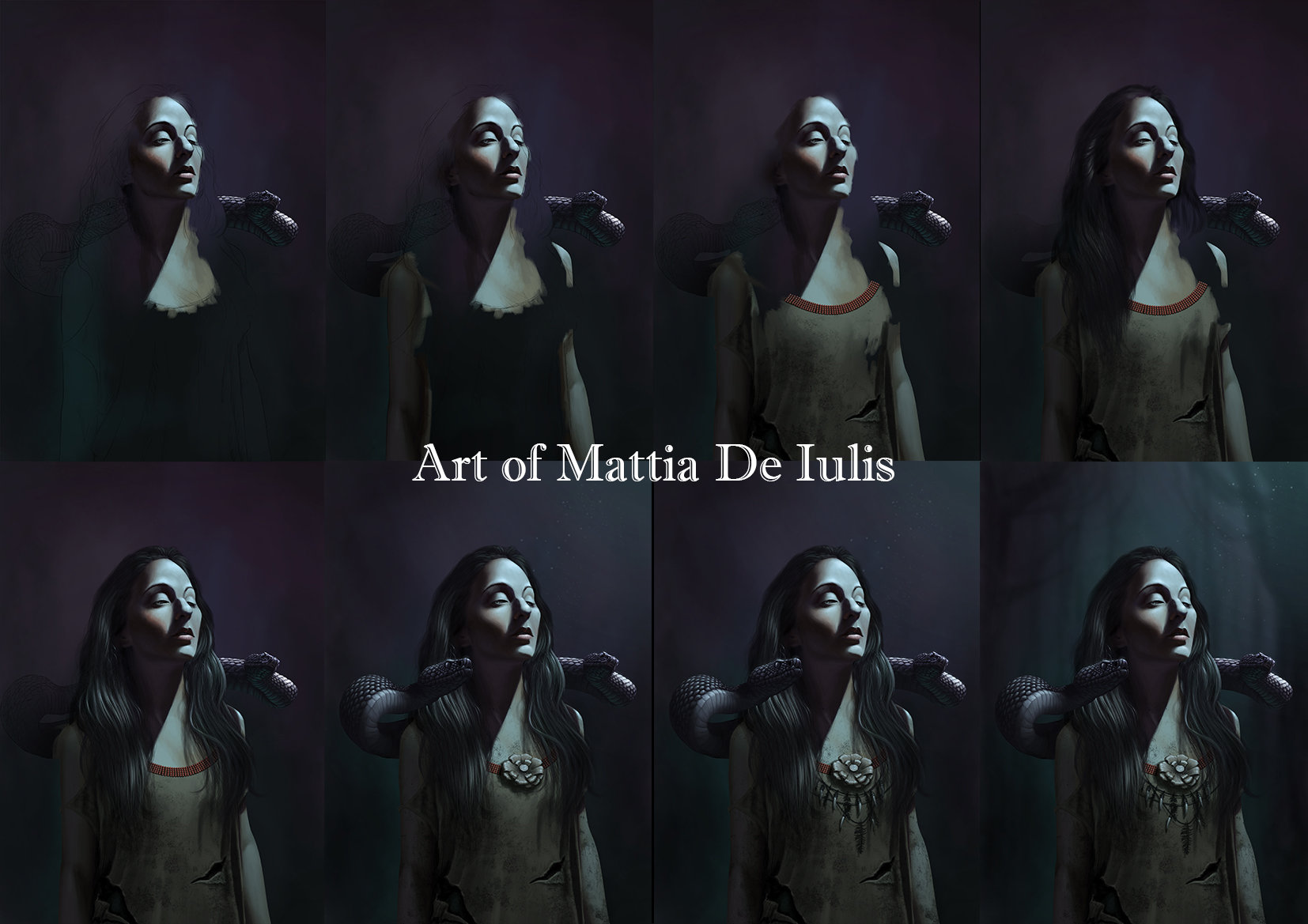Mattia de iulis regina delle paludi ill tutorial web