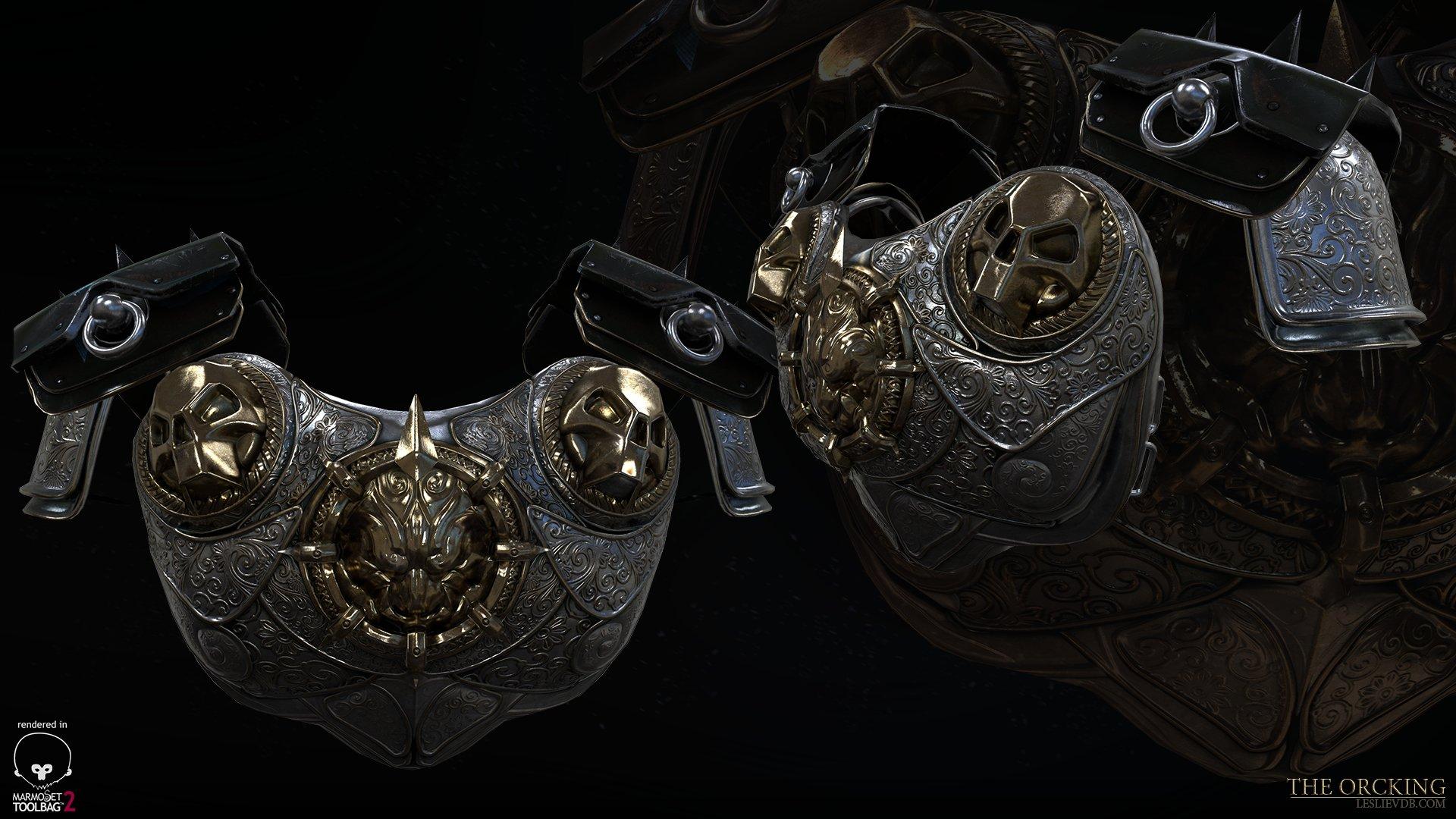 Leslie van den broeck orcking leslievdb armor