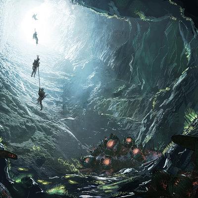 Simon ko alien cave dive