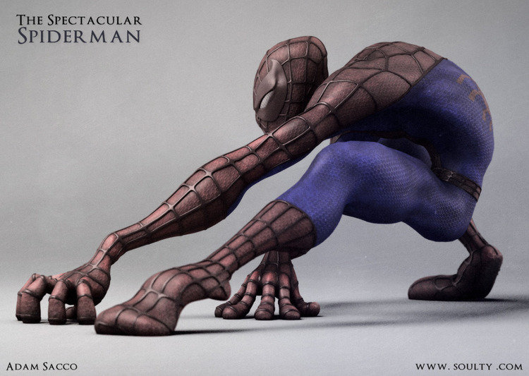 Adam sacco spiderman