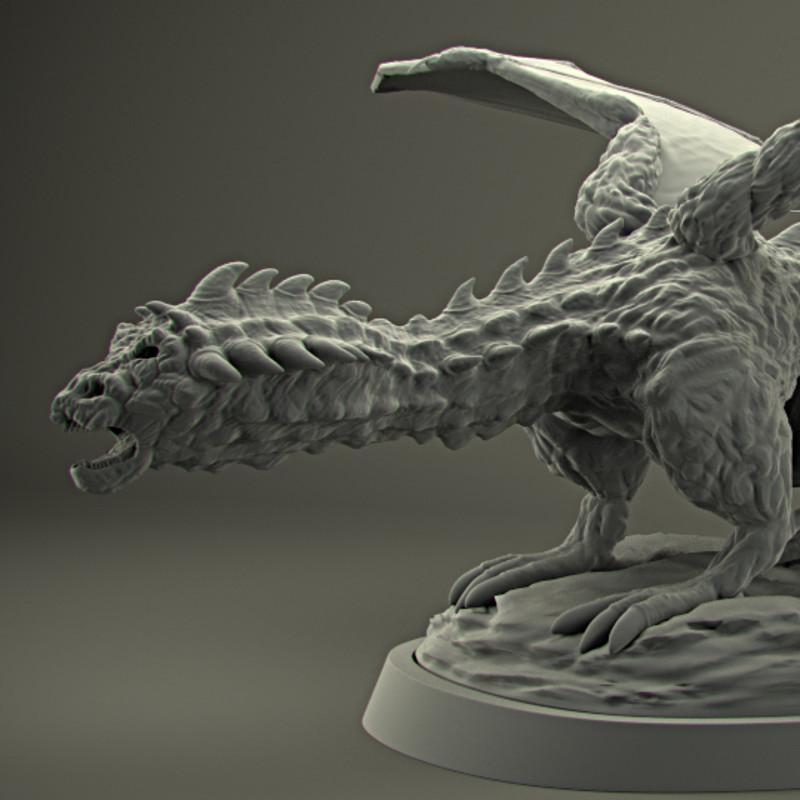 Dragon concept sculpt