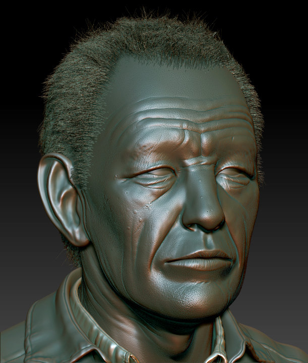 Damon woods old man sculpt