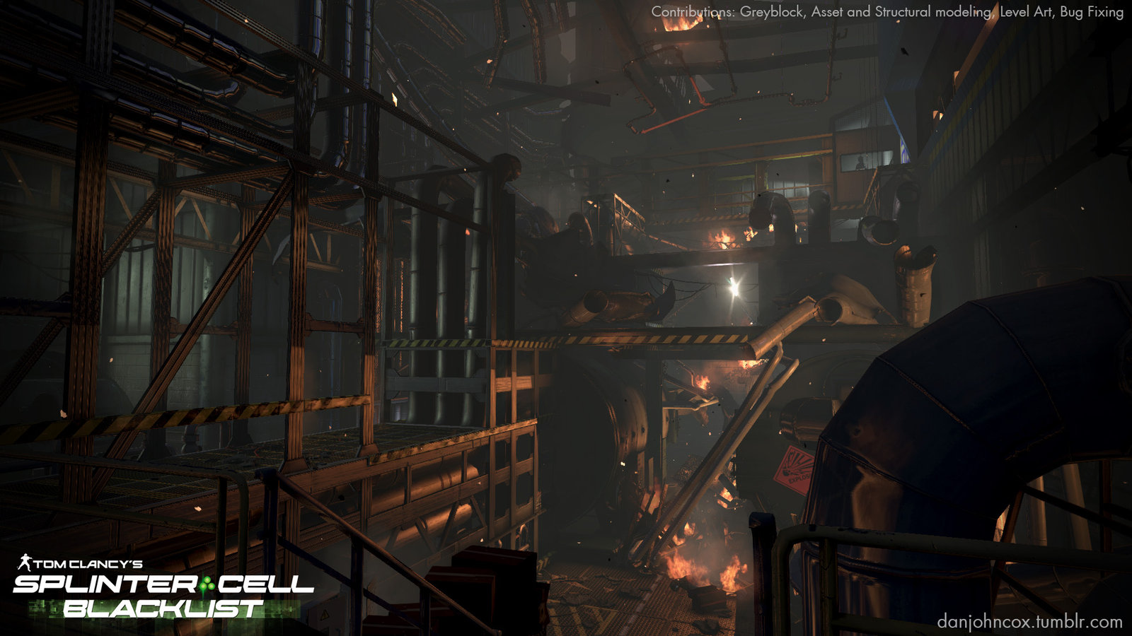 Environment Art for Splinter Cell Blacklist