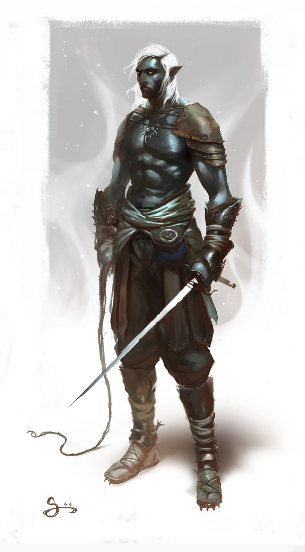 Oliver odmark dark elf slaver