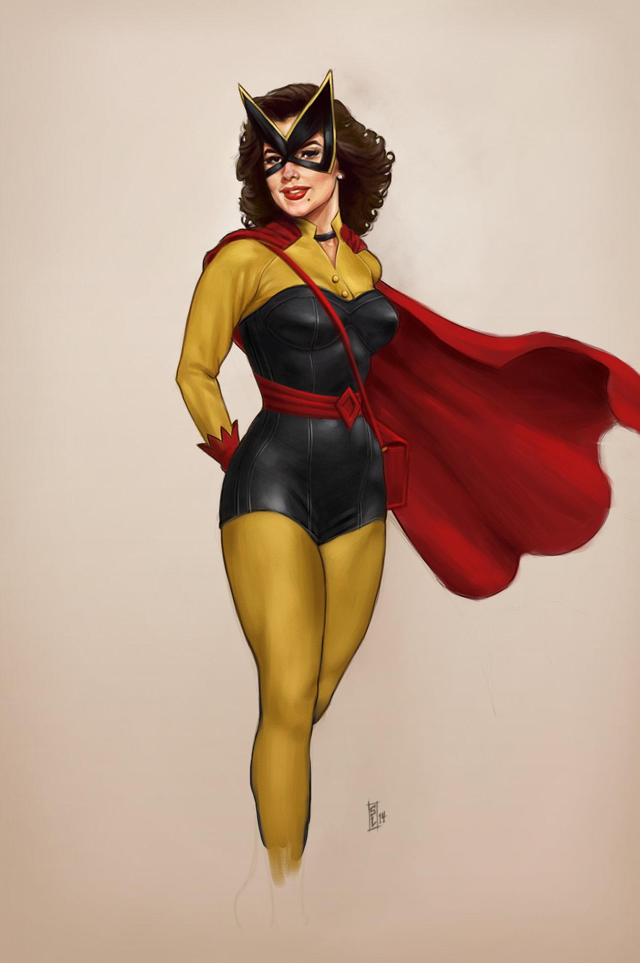 Картинки супергероев женщина