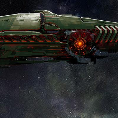 Simon ko 100208 alienship color studies 16