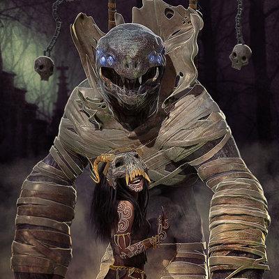 Bjorn barends witch doctor diablo by bbarends d784ek4