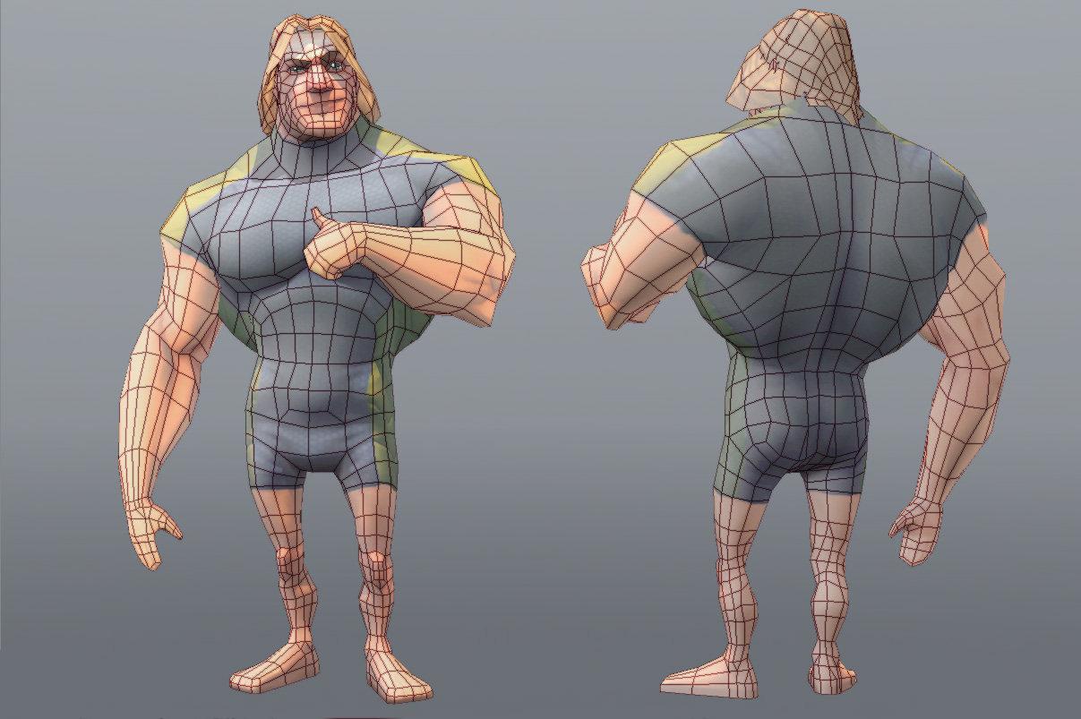 Создание картинки игрового персонажа