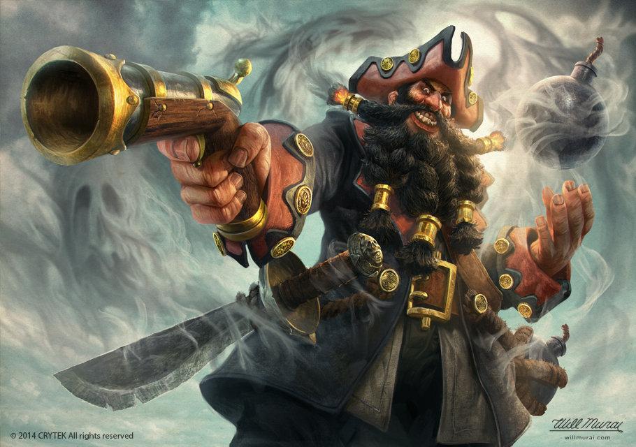 Will murai blackbeard aof willmurai