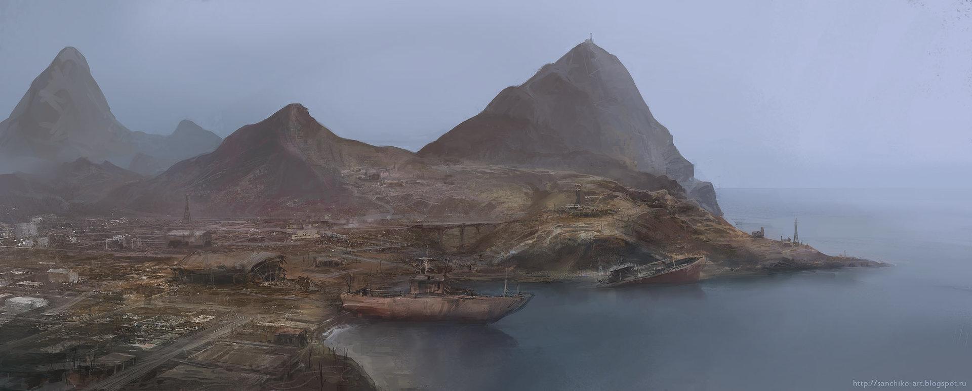Alexander chelyshev rusty coast s