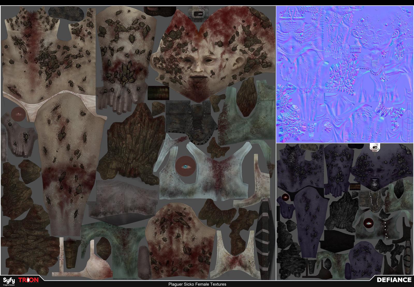 Satoshi arakawa npc female plaguer textures