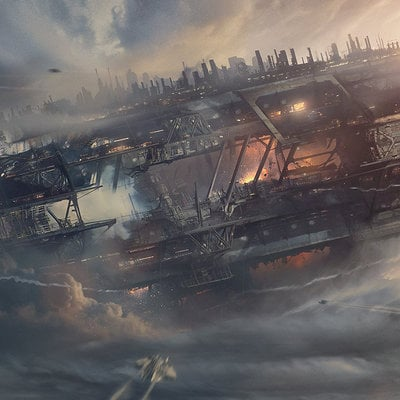 Bastien grivet the crash of the old titan hd