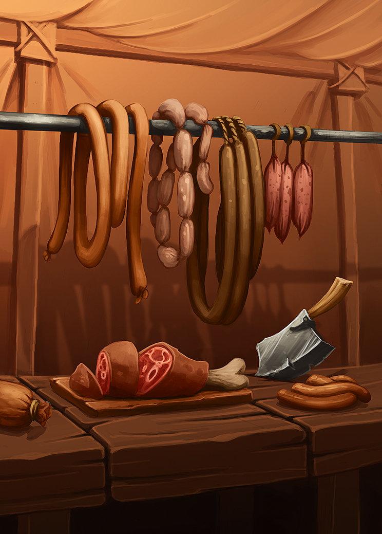 Quentin ghion nourriture cochonaille