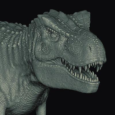 Sascha kozacenko t rex sculpt