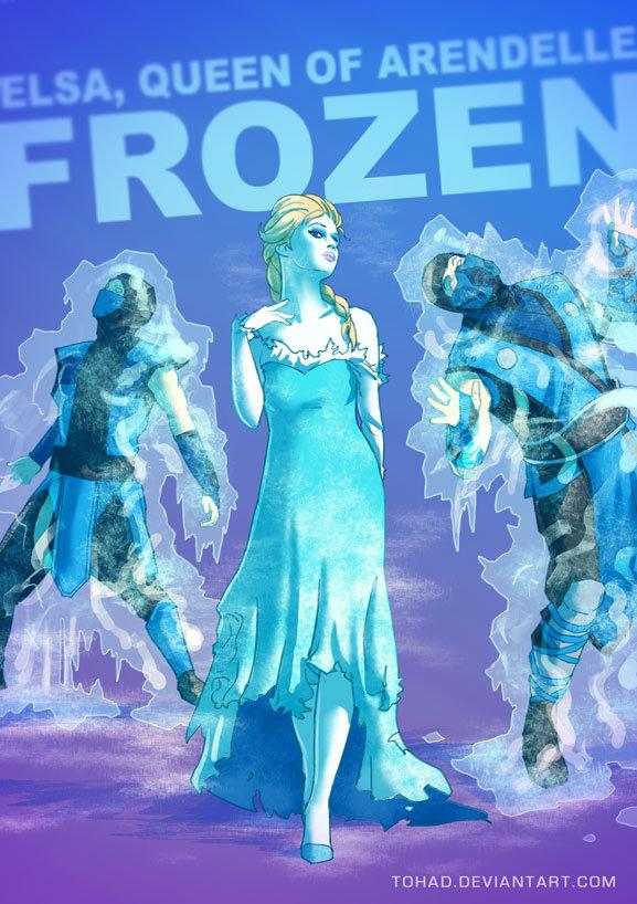 Sylvain sarrailh frozen