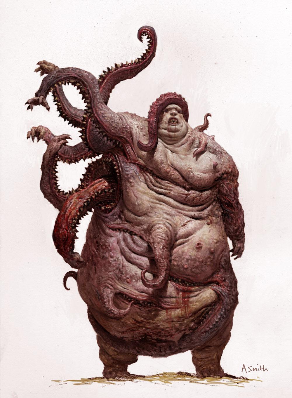 Adrian smith monster6 gluttony